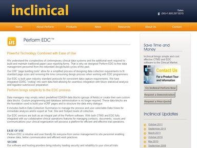 Electronic Data Capture System Perform Edc